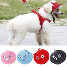 Sun Hat Hiking Pet Products Pet Dog Summer Fashion Cloth Mesh Breathable Pet  Hat Canvas For Small Pet Dog