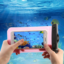 Waterproof Phone Bag Fundas For iPhone 7 6 plus Samsung j5 j7 s7 Mobile Water proof Case Cover For Xiaomi Redmi 3s Note 3 4 Pro