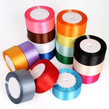 Satin Ribbon 25 Yards 38mm Packing Material DIY Bow Craft Decor Wedding Party Decoration Gift Wrapping Scrapbooking Supplies