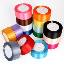 Satin Ribbon 25 Yards 38mm Packing Material DIY Bow Craft Decor Wedding Party Decoration Gift Wrapping Scrapbooking Supplies(China)