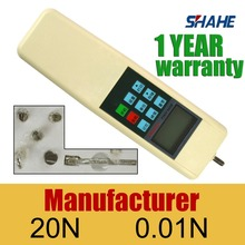 force meter digital HF-20 Digital force dynamometer CE certificate, good quality force tester, force meter