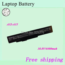 High quality Original Laptop battery For MSI A32-A15  A41-A15  A42-A15 A42-H36
