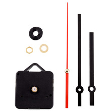 New Useful Fashion Clock Movement Mechanism Parts Red Second Hand Repair Replacing Quiet Silent Clock Essetial(China)
