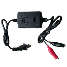 12 V Sealed Lead Acid Rechargeable car universal Battery usb Charger Black & Red Rechargeable Sealed Lead Battery Charger