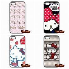 For iPhone 4 4S 5S 5 5C SE 6 6S Plus iPod Touch 4 5 6 HTC One M7 M8 M9 LG G2 G3 G4 G5 Cute Cartoon Hello Kitty Phone Case Cover