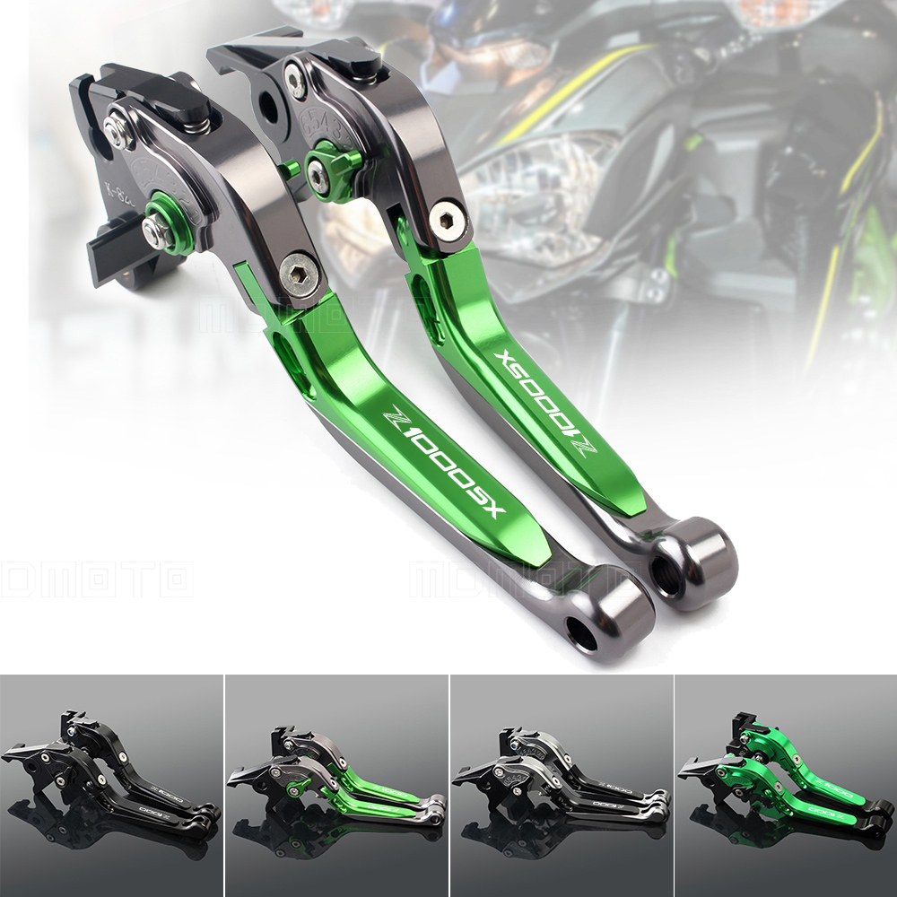 CNC motorcycles brake clutch lever For kawasaki Z900 Z800 Z1000 Z1000SX ZX6R Z650 Z750 VERSYS 650 1000 ninja 1000 brake levers <br>