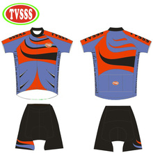 TVSSS Summer Men And Women Cycling Jerseys Set a Private Custom Brand Services Have Large Security Reflective Logo Bike Clothing(China)
