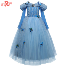 Fantasy Baby Birthday Tutu Outfits Dress Up Baby Girl Dresses Children Princess Kids Party Costume Teenage Girl Fancy Ball Dress(China)
