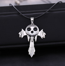 hot Anime Soul Eater Death The Kid Necklace Inspired Pendant Anime Cosplay Accessories Gift AD