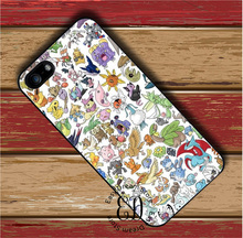 cute pokemon case for iphone 4 5 5s SE 5c 6 6s 7 Plus iPod 5 6 Samsung s3 s4 s5 mini s6 s7 s8 edge plus Note 3 4 5