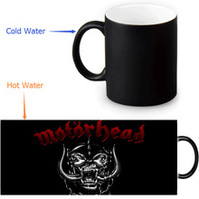 Motorhead Magic Mug Custom Photo Heat Color Changing Morph Mug 350ml/12oz Coffee Mug Beer Milk Mug Halloween Gift