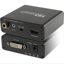 HDMI to DVI audio converter Splitter for PS4 DVD laptop  HDMI to DVI+coaxial/aux audio with HDCP removing functions