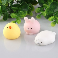 Fun Novelty Antistress Ball Toy Cute Seals Emotion Vent Ball Resin Relax Doll Adult Stress Relieve Novelty Toys Gift JK893032