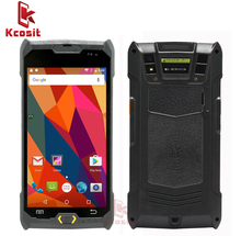 Kcosit 1D 2D Laser Barcode Android 6.0 Scanner IP67 Waterproof Phone PDA Handheld Terminal Data Collector inventory Logistics