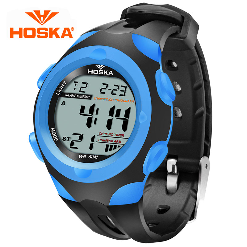 HOSKA Children Boys And Girls Students Watch Electronic Watch Students Luminous Waterproof Sports Watch Small<br><br>Aliexpress