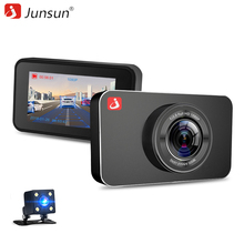 "Buy Junsun H9 ADAS Car DVR Camera Full HD 1080P Dual Lens 3 "" IPS Dash cam Video Recorder LDWS Night Vision 170 Degaree for $57.97 in AliExpress store"