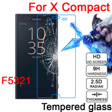 Buy 2.5D 9H LCD Tempered Glass Screen Protector Film Sony Xperia X Performance F8131 32 F5121 22 X Compact F5321 Protective Film for $1.33 in AliExpress store