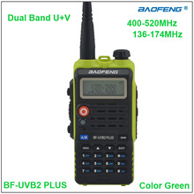 Baofeng 2015 Two Way Radio BF-UVB2 Plus Walkie Talkie Dual Band UVB2 Green Color w/Earpiece