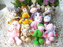 A wide variety of animal fat mixed Plush toy dolls doll cloth doll cow small accessories decoration prize gift