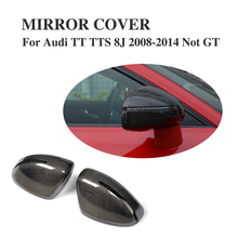 Buy Carbon Fiber Replacement type Rearview Mirror Covers Audi TT 8J TTS 2008 2014 Side Mirror Covers Car styling for $350.00 in AliExpress store