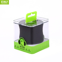 EWA A109 Wireless Bluetooth Speaker Portable HIFI Small Speaker For Phone Outdoor Sports Bluetooth Player Bluetooth MP3 Player(China)