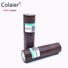 Colaier 2pcs For LG HG2 18650 battery 3000 mAh 3.6 V Max discharge 30A Dedicated electronic cigarette battery