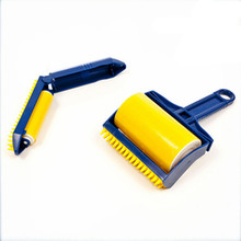 2PCS/set Reusable Sticky Buddy Picker Cleaner Lint Roller cat/dog Hair Remover Brush cleaning brush dust