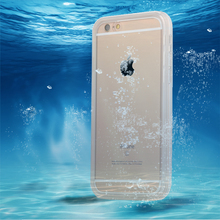 6 6s Waterproof Case Coolest 360 Full Body Water Proof Swim Diving Phone Cases For iPhone 5 5s SE 6 6s Plus Clear Soft TPU Cover(China)