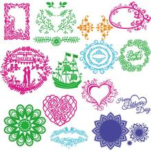 Hotselling Hot Selling Fast Shipping  New Metal Cutting Dies Stencil DIY Scrapbooking Embossing Album Paper Card Craft 422