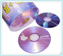 Wholesale 50 discs A+ Authentic Bananas Purple Design 16x Blank 4.7 GB DVD+R Disc
