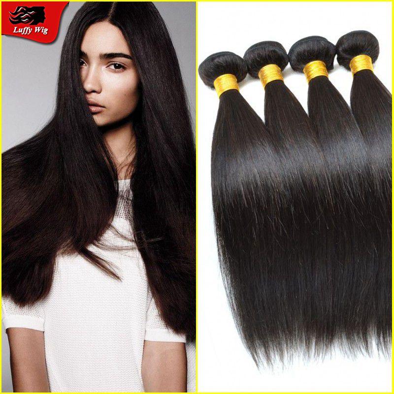 Brazilian virgin hair bundles for black women silky straight hair bundles free shipping by DHL 3 pieces lot weaving hair<br><br>Aliexpress