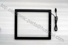 15 inch 15'' Infrared touch screen touch panel digitizer for Kiosk POS ATM device free shipping(China)