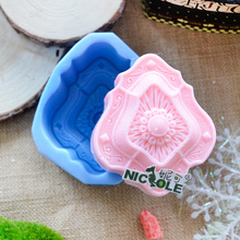 R0018 Handmade Custom Classic Shaped Silicone Natural Soap Molds