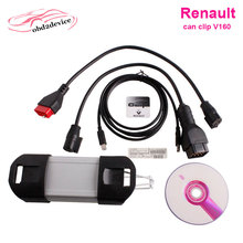 Newest Renault Clip v165 version for Renault multi languages auto diagnostic interface Renault Can Clip free ship(China)