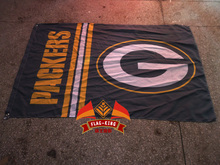 Green Bay Packers Football Club house flag, NFL flag,Green Bay Packers Football Club house banner,90*150 CM polyester banner(China)