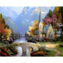 Frameless picture DIY diy digital oil painting fashion decorative painting 40 50 paint by number kits unique gift home decor