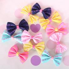 Pet Grooming Bows Small dog hair accessories grooming hair bows with clips puppy Hair jewelry(China)