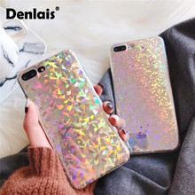 Buy Luxury Bling Glitter Shining Case Iphone 7 6S Capa Rainbow Laser Phone Case iPhone X 8 7Plus 6 Plus Fashion Back Cover for $2.99 in AliExpress store