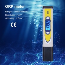 2017 new High Quality Digital Handheld ORP Tester Range:0-+/-1999mg/LmV Drinking Water Analyser ORP Meter Water Hydroponics