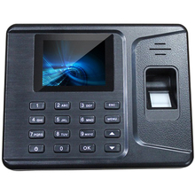 "Free Shipping F260 USB Fingerprint and password time attendance system USB download 2.8""TFT color Screen"