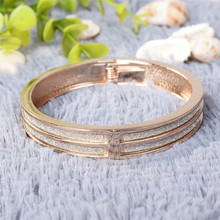 1 Pc Pinksee High Quality Sticker Cuff Bangles Gold Hinge Bracelet Vintage Women Jewelry Best Party Gifts