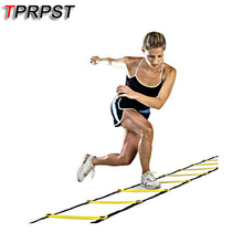 TPRPST 7 rung 4meter Agility Ladder for Soccer Speed Training Football Fitness Feet Training Equipment LA12800(China)