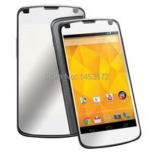 Lot/10 pcs Anti scratch anti dust mirror LCD screen protector film cover for LG Nexus 4 E960(China)