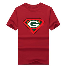 2017 Super Packers of Green Bay Printed Men's T-Shirt T Shirt For Men Short Sleeve O Neck 100% Cotton(China)