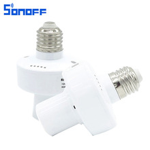 Buy Sonoff Slampher E27 RF WiFi Light Bulb Holder 433MHz Wireless Controll Light Holder Smart Home Remote Control IOS Android for $12.67 in AliExpress store