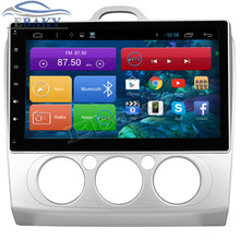 New 1024*600 Quad Core 10.2inch Android 4.4 Car Radio for Ford Focus 2 MANUAL Bluetooth 16GB Nand Flash Wifi Mirror Link Maps