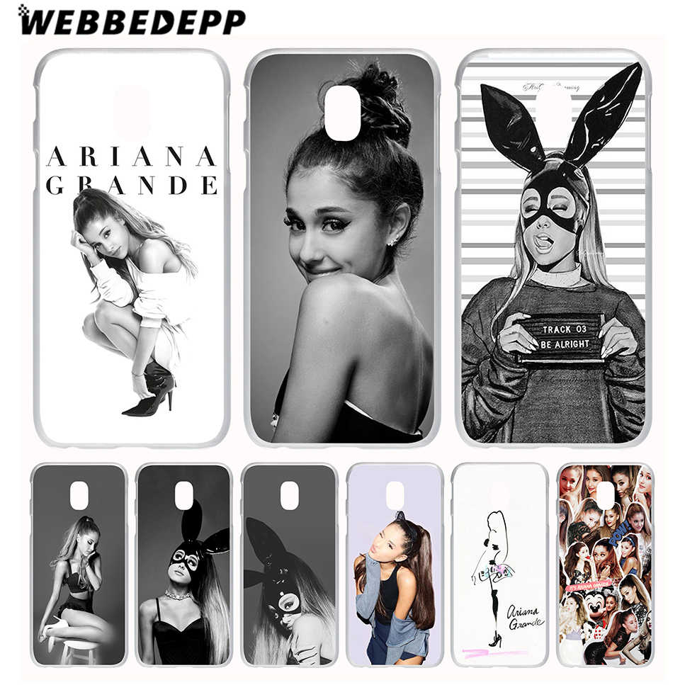 Чехол для телефона WEBBEDEPP Cat Ar Ariana Grande для Galaxy J1 J2 J3 J5 J6 J7 (2015/2016/2017/2018 Prime) EU US Version Cover