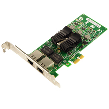82576 Chipset Dual Ports Gigabit Server Adapter PCIe NIC E1G42ET 10/100/1000Mbps(China)