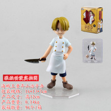 2015 hot sale new 12cm One  Piece MH POP MILD childhood Sanji action figure toys Wholesale