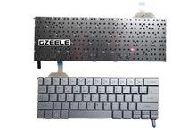 English Keyboard FOR ACER S7 S7-391 S7-392 US backlight Without frame Silver laptop keyboard - S-u-p-e-r Laptop parts Store store